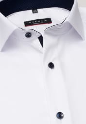 ETERNA CHEMISE À MANCHES LONGUES MODERN FIT COVER SHIRT TWILL BLANC UNI