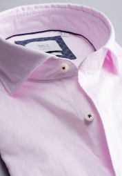 ETERNA CHEMISE À MANCHES LONGUES SLIM FIT SOFT TAILORING TWILL ROSE UNI