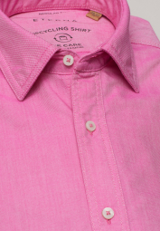 ETERNA CHEMISE À MANCHES LONGUES REGULAR FIT UPCYCLING SHIRT OXFORD ROSE UNI