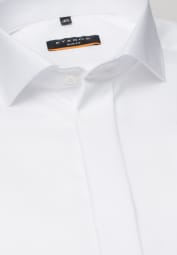 ETERNA CHEMISE À MANCHES LONGUES SLIM FIT COVER SHIRT TWILL CHAMPAGNE UNI