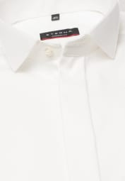 ETERNA CHEMISE À MANCHES LONGUES MODERN FIT COVER SHIRT TWILL CHAMPAGNE UNI