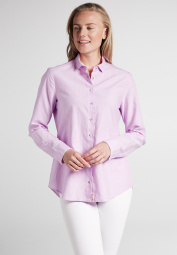ETERNA CHEMISIER À MANCHES LONGUES MODERN CLASSIC UPCYCLING SHIRT OXFORD ROSE UNI