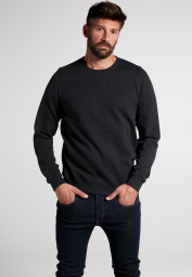ETERNA PULL EN TRICOT AVEC COL ROND UPCYCLED MATERIALS NOIR UNI