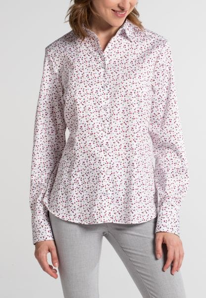 ETERNA LONG SLEEVE BLOUSE MODERN CLASSIC PINK / COLORFUL PRINTED
