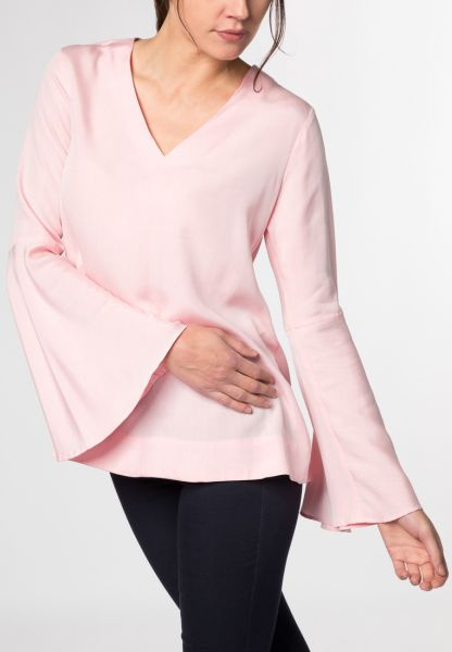 LANGARM BLUSE 1863 BY ETERNA - PREMIUM ROSE UNIFARBEN